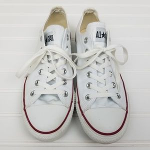 Converse All Star Low Top Sneakers White W10 M8